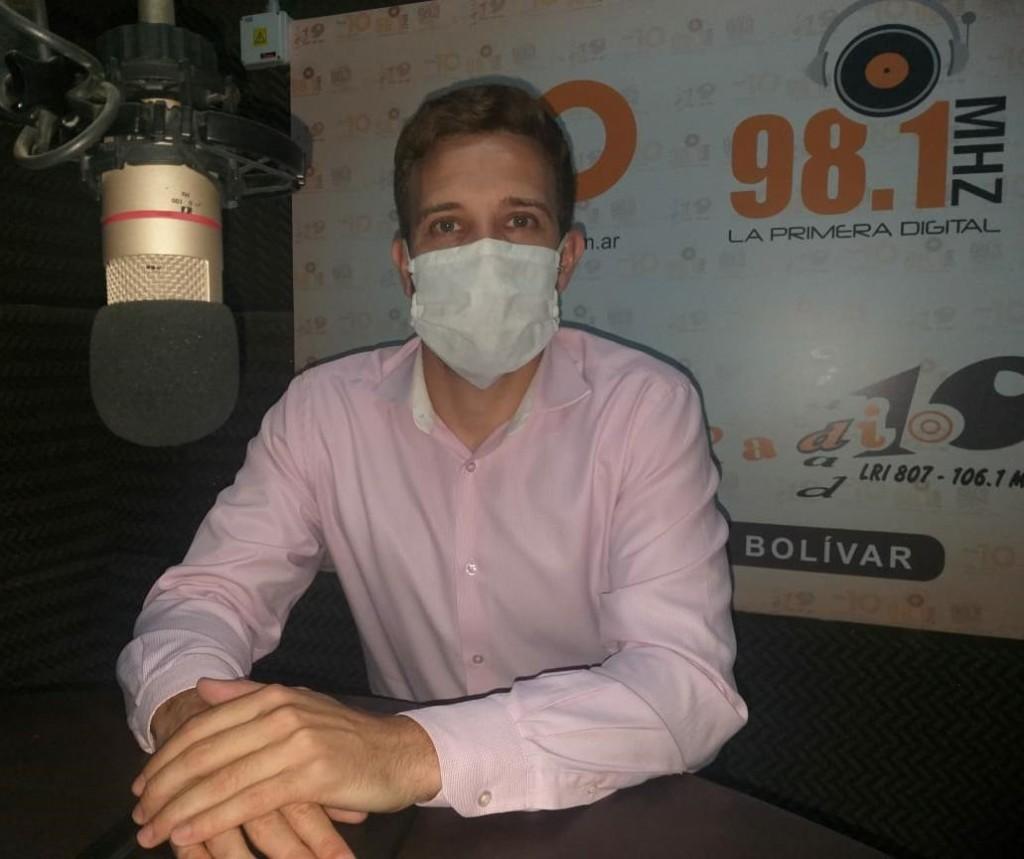 """Javier Rodríguez: """"El proyecto que vamos a consolidar del  Centro de Salud, va en favor de los asociados y busca descomprimir el hospital"""""""