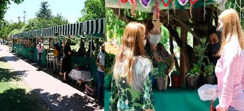 La Feria Verde cumplió 6 años de su fundación como emprendimiento productivo