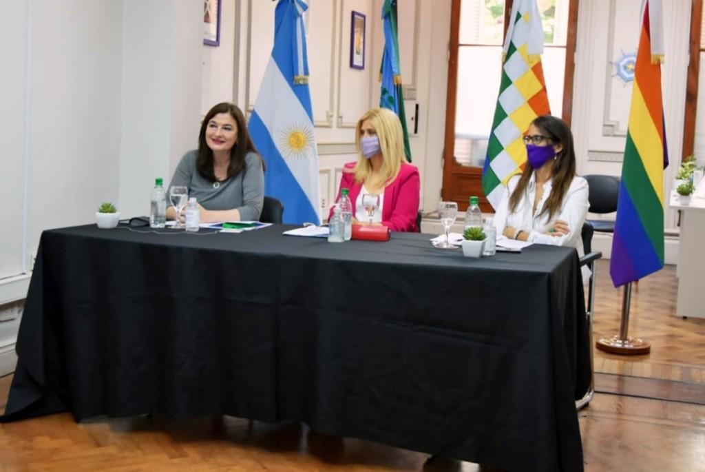 Bolívar participó del cierre anual del Consejo de Articulación de políticas de Genero y Diversidad