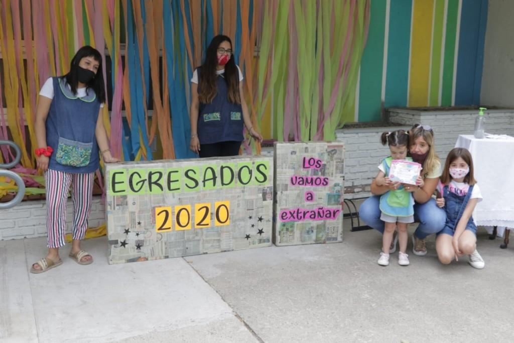Los Jardines Maternales cerraron el Ciclo Lectivo 2020