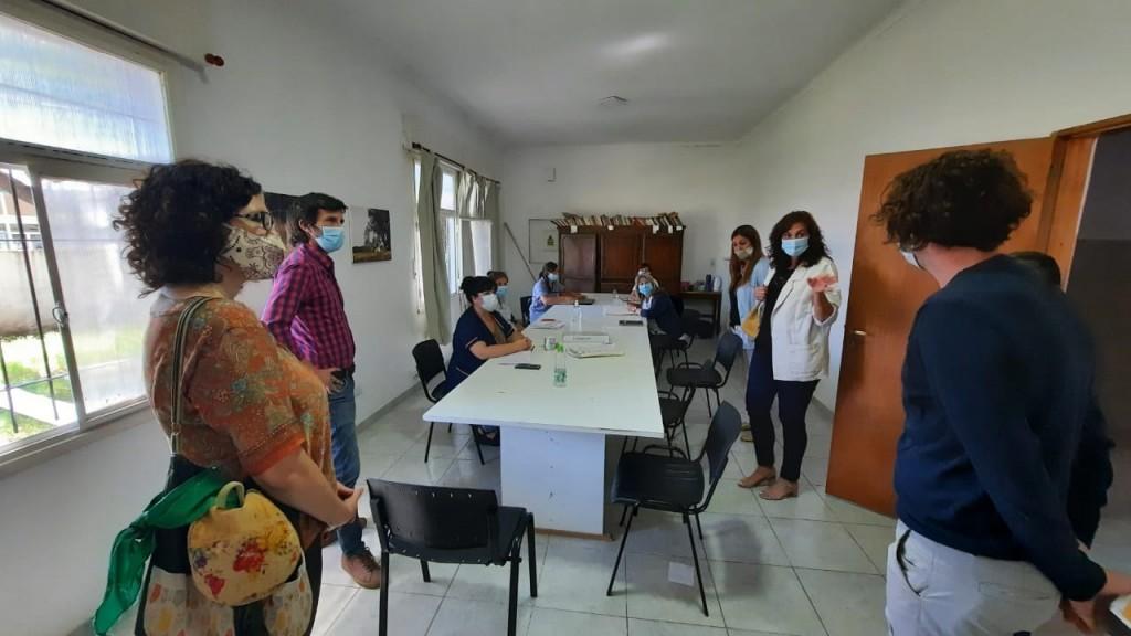 Región Sanitaria IX: Integrantes del equipo visitaron el hospital de Bolívar