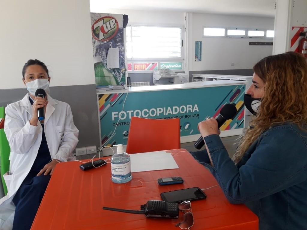 """Rocío Larreche: """"Todos somos distintos y el virus impacta en forma diferente en el organismo de cada persona"""""""