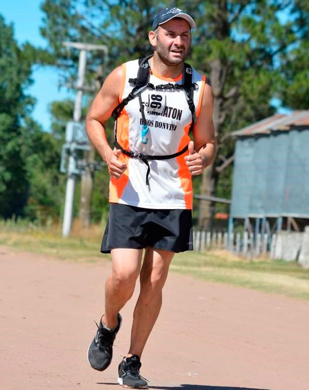 """Ernesto López: """"Estoy feliz porque corrí mi primera maratón y me fue espectacular"""""""