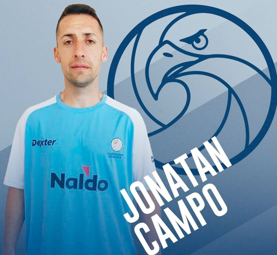 """Jonatan Campo: """"Estoy agradecido al Cuerpo Técnico que confió en mí y a los Dirigentes, que quisieron que me quede"""""""