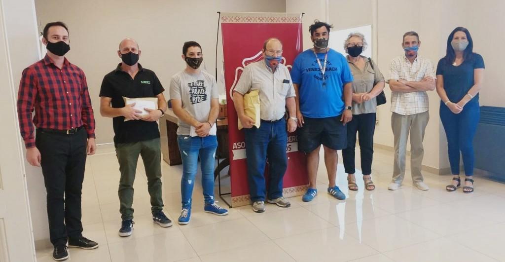Se realizó la entrega de premios finales de la Rifa anual de Bomberos Voluntarios