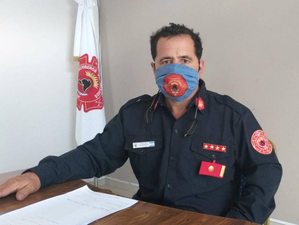 """Jorge García: """"Pedimos a la comunidad que de no ser necesario, no provoque incendios que se puedan descontrolar"""""""