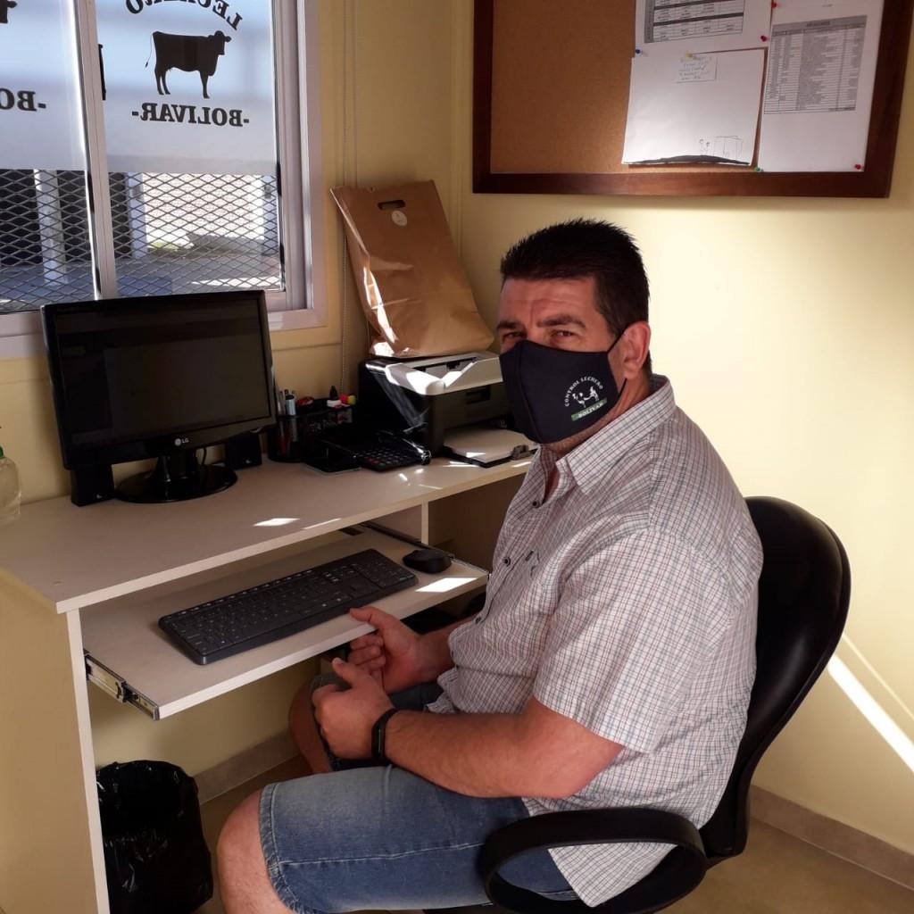 """Javier """"Willy"""" Fernández (COVID19): """"Los primeros días del virus son difíciles, por eso pido a los bolivarenses que se cuiden"""""""