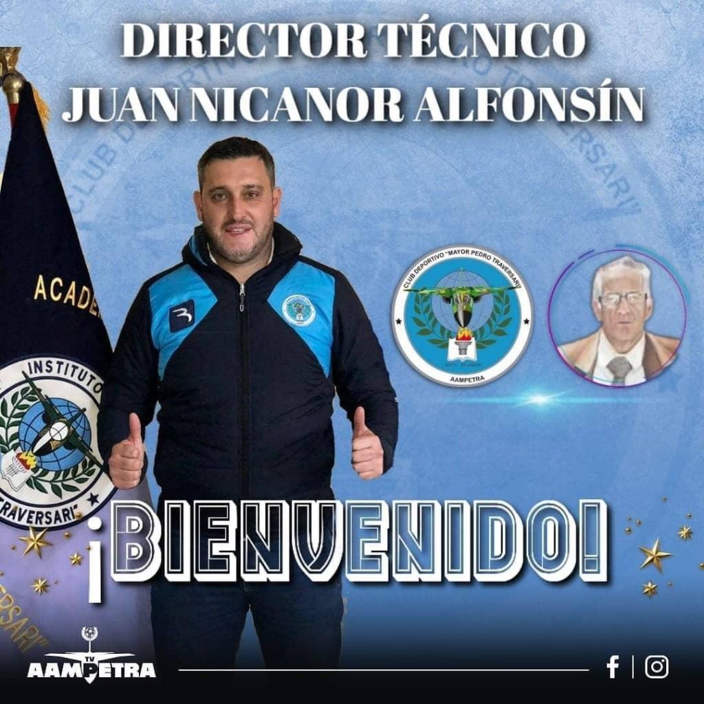 """Juan Nicanor Alfonsín: """"En algún momento la constancia y el trabajo te llevan al éxito"""""""