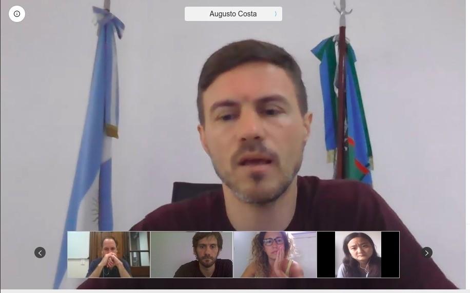 Emilio Leonetti participó de la última reunión del año del COPROTUR